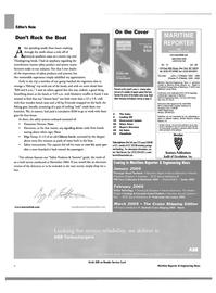 Maritime Reporter Magazine, page 6,  Dec 2004
