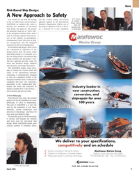 Maritime Reporter Magazine, page 9,  Mar 2, 2005 Wisconsin