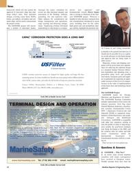 Maritime Reporter Magazine, page 10,  Mar 2, 2005