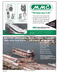 Maritime Reporter Magazine, page 11,  Mar 2, 2005 Lou Gomlick