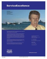 Maritime Reporter Magazine, page 13,  Mar 2, 2005