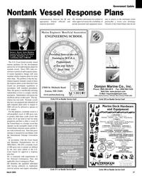 Maritime Reporter Magazine, page 17,  Mar 2, 2005