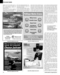 Maritime Reporter Magazine, page 18,  Mar 2, 2005 Center World Wide Service