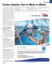 Maritime Reporter Magazine, page 27,  Mar 2, 2005 International Council of Cruise Lines