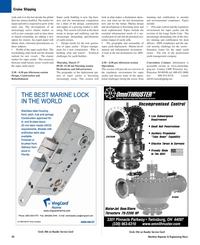Maritime Reporter Magazine, page 30,  Mar 2, 2005 United States