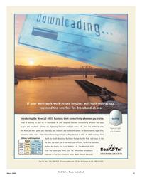 Maritime Reporter Magazine, page 31,  Mar 2, 2005 Sea Tel Europe
