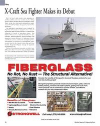 Maritime Reporter Magazine, page 36,  Mar 2, 2005 aeroderivative marine gas turbines