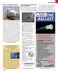 Maritime Reporter Magazine, page 41,  Mar 2, 2005 Washington