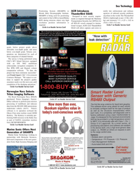 Maritime Reporter Magazine, page 43,  Mar 2, 2005 Oregon