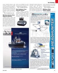 Maritime Reporter Magazine, page 45,  Mar 2, 2005 microDMx technologies