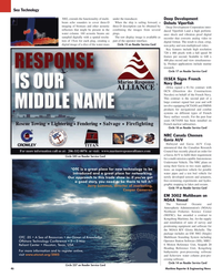 Maritime Reporter Magazine, page 46,  Mar 2, 2005 Canadian Research Council