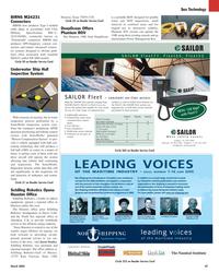 Maritime Reporter Magazine, page 47,  Mar 2, 2005