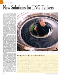Maritime Reporter Magazine, page 50,  Mar 2, 2005 aero engine technology