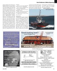 Maritime Reporter Magazine, page 59,  Mar 2, 2005