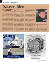 Maritime Reporter Magazine, page 60,  Mar 2, 2005