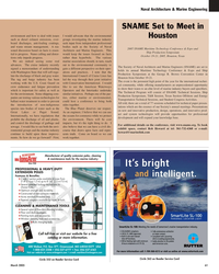 Maritime Reporter Magazine, page 61,  Mar 2, 2005 2005 SNAME Maritime Technology