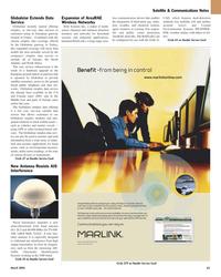 Maritime Reporter Magazine, page 65,  Mar 2, 2005 satellite communications