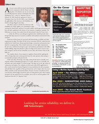Maritime Reporter Magazine, page 6,  Mar 2, 2005
