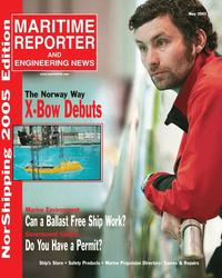 Maritime Reporter Magazine Cover May 2005 - Marine Enviroment Edition