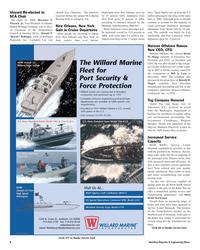Maritime Reporter Magazine, page 8,  May 2005 Florida