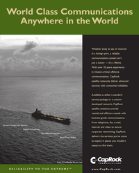 Maritime Reporter Magazine, page 11,  May 2005