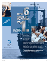 Maritime Reporter Magazine, page 13,  May 2005