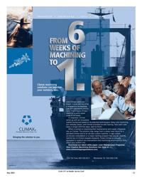 Maritime Reporter Magazine, page 13,  May 2005 China