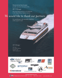Maritime Reporter Magazine, page 2nd Cover,  May 2005