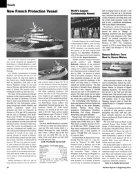 Maritime Reporter Magazine, page 24,  May 2005 J??rgen Krumnow