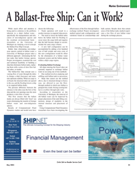 Maritime Reporter Magazine, page 25,  May 2005