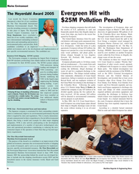 Maritime Reporter Magazine, page 26,  May 2005