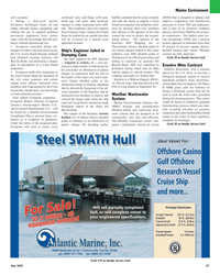 Maritime Reporter Magazine, page 27,  May 2005
