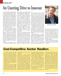 Maritime Reporter Magazine, page 32,  May 2005