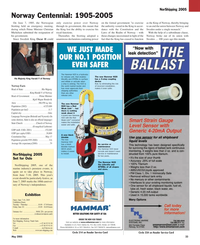 Maritime Reporter Magazine, page 33,  May 2005