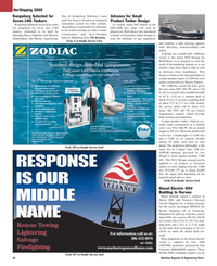 Maritime Reporter Magazine, page 34,  May 2005