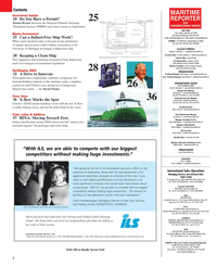 Maritime Reporter Magazine, page 2,  May 2005 Michigan