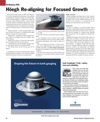 Maritime Reporter Magazine, page 38,  May 2005