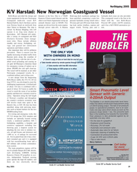 Maritime Reporter Magazine, page 39,  May 2005