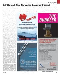 Maritime Reporter Magazine, page 39,  May 2005 Rolls-Royce Poscon2 DP
