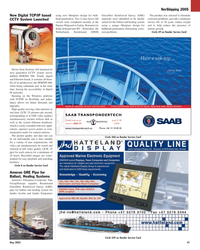 Maritime Reporter Magazine, page 41,  May 2005