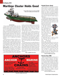 Maritime Reporter Magazine, page 42,  May 2005
