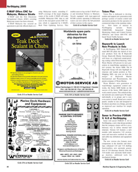 Maritime Reporter Magazine, page 44,  May 2005 C-MAP