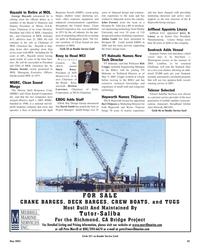 Maritime Reporter Magazine, page 45,  May 2005 Broadband