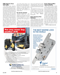 Maritime Reporter Magazine, page 47,  May 2005