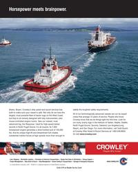 Maritime Reporter Magazine, page 3,  May 2005 Escort