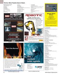 Maritime Reporter Magazine, page 50,  May 2005 Oregon