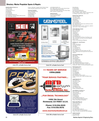 Maritime Reporter Magazine, page 52,  May 2005 Wisconsin