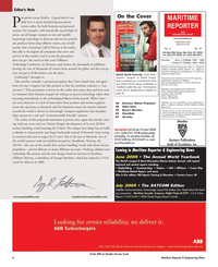 Maritime Reporter Magazine, page 6,  May 2005