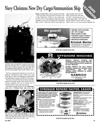Maritime Reporter Magazine, page 33,  Jun 2005 Tennessee