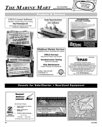 Maritime Reporter Magazine, page 85,  Jun 2005 Products & Services USCG License Software